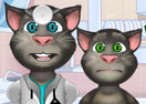 Talking Tom Eye Doctor