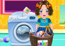 Daria Washing Clothes