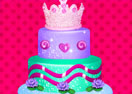 Crown Cake Topper Decor