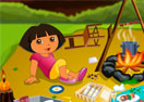 Dora's Forest Camp Cleaning