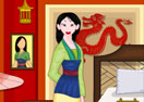Princess Mulan Room Cleaning