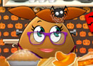 Pou Girl Punpkin Pie