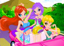 Winx Girls Racing Fashion
