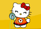 Hello Kitty Defend The Flowers