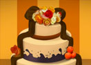 Fall Wedding Cake Decor