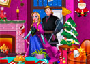 Anna and Kristoff Xmas Cleaning
