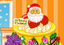 Merry Christmas Cake Decoration