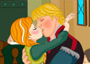 Frozen Anna Kissing