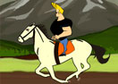 Johnny Bravo Unruly Horse