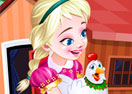 Frozen Elsa Poultry Care