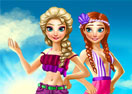 Elsa And Anna Summer Break
