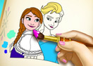 Frozen Coloring Book