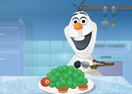 Olaf Cooking Sea Turtle Ice Cream Cake