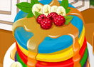 Addicted To Dessert: Rainbow Pancakes