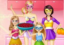 Barbie Family Cooking Summer Berry Pie
