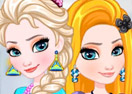 Elsa And Rapunzel Matching Outfits