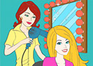 Barbie Make Up Online Coloring