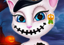 Talking Angela Halloween Makeover