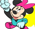 Colorindo a Minnie