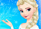 Elsas Frozen New Look