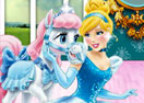 Cinderella and Bibbidy Palace Pets