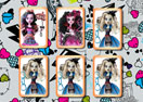 Monster High Dolls Memory Cards