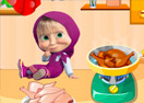 Masha Cooking Lesson