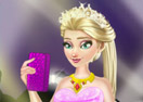 Elsa Red Carpet Dress Up