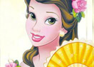 Princess Belle Memory Cards