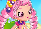 Shopkins Shoppies Bubbleisha Dress Up