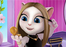 Talking Angela Make Up Time