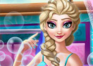 Mommy Elsa Makeover