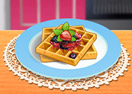 Saras Cooking Class: French Toast Waffles