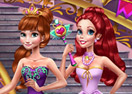 Anna and Ariel Princess Ball Dress Up