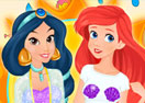 Jasmine and Ariel Ready for Summer