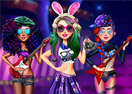 Pop Star Girl Dressup