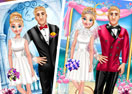 Anna And Kristoff Wedding Photo