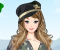 Military Girl Dress Up