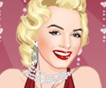Marilyn Monrone Dress Up Game