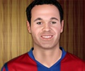 Andres Iniesta Make Up