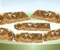 Nutty Orange Flapjacks