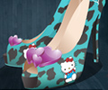 Hello Kitty Fan Shoe
