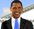 Dress-up Pres. Barack Obama