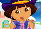 Dora the Winter Explorer Dressup