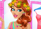 Beautiful Spring Princess Makeover