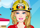 Barbie Firefighter Dress Up