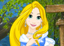 Princess Rapunzel Goldie Style Dress Up