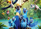 Rio 2 Movie Puzzle