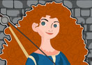 Princess Merida Cleaning